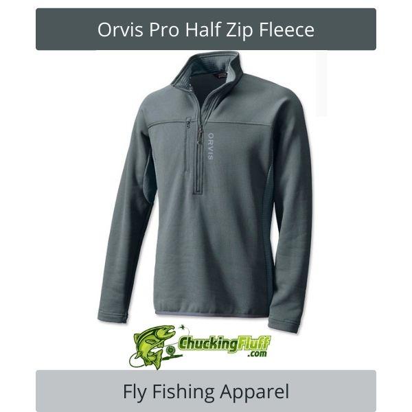Fly Fishing Apparel - Orvis Pro Half Zip Fleece