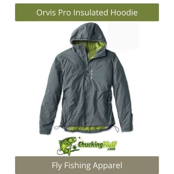 Fly Fishing Apparel - Orvis Pro Insulated Hoodie