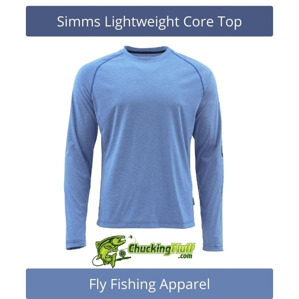 Fly Fishing Apparel - Simms Lightweight Core Top