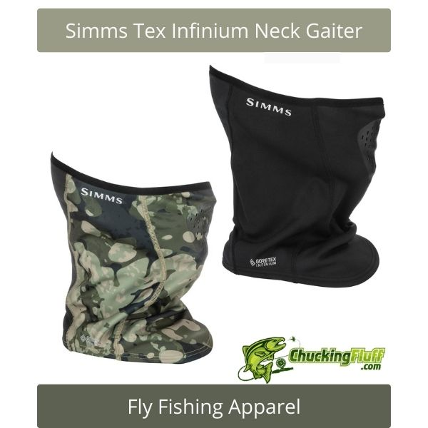Fly Fishing Apparel - Simms Tex Infinium Neck Gaiter