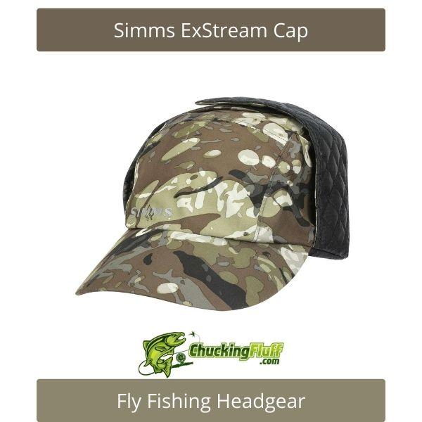 Fly Fishing Headgear - Simms ExStream Cap