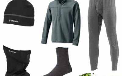 Winter Fly Fishing Clothing Tips 2020 – Layer up to Keep Warm