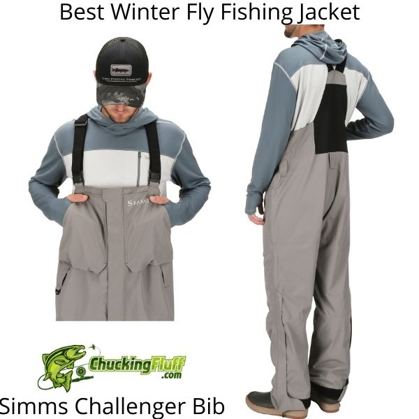 Best Winter Fly Fishing Jackets - Simms Challenger Bib