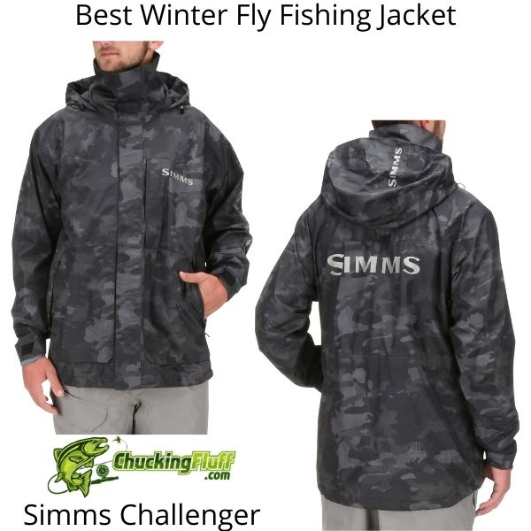 Best Winter Fly Fishing Jackets - Simms Challenger