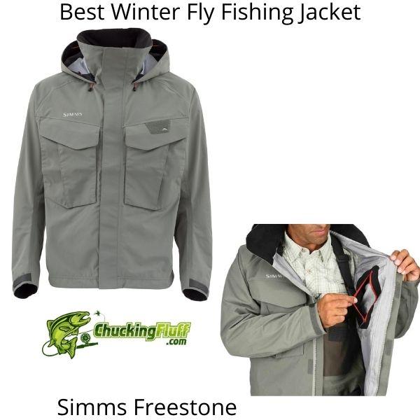 Best Winter Fly Fishing Jackets - Simms Freestone