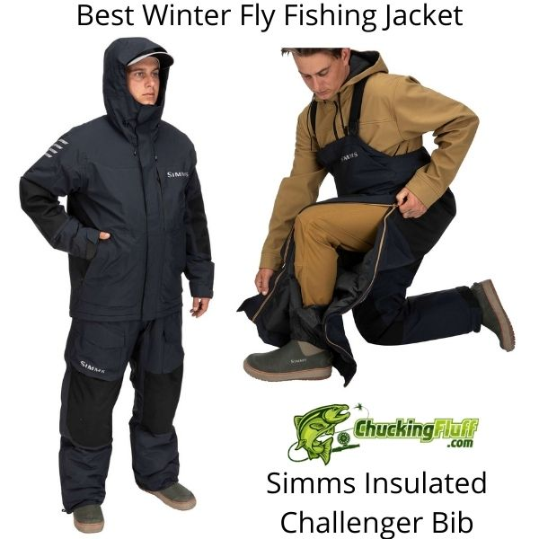 Best Winter Fly Fishing Jackets - Simms Insulated Challenger Bib