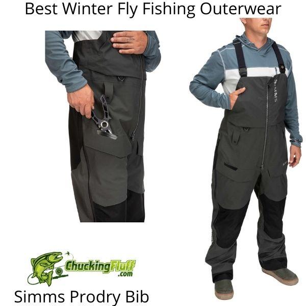 Best Winter Fly Fishing Jackets - Simms Prodry Bib