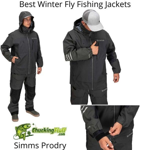 Best Winter Fly Fishing Jackets - Simms Prodry