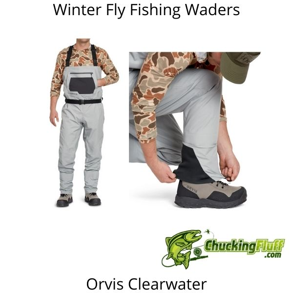 Winter Fly Fishing Waders - Orvis Clearwater