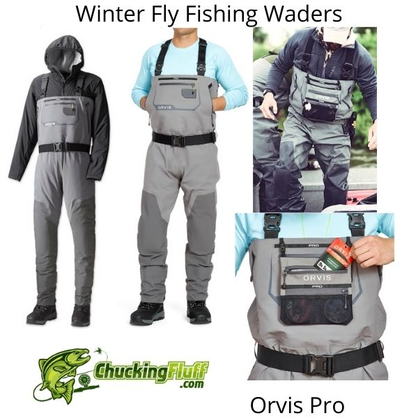 Winter Fly Fishing Waders - Orvis Pro