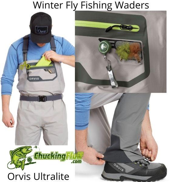 Winter Fly Fishing Waders - Orvis Ultralite