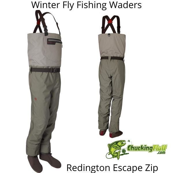 Winter Fly Fishing Waders - Redington Escape