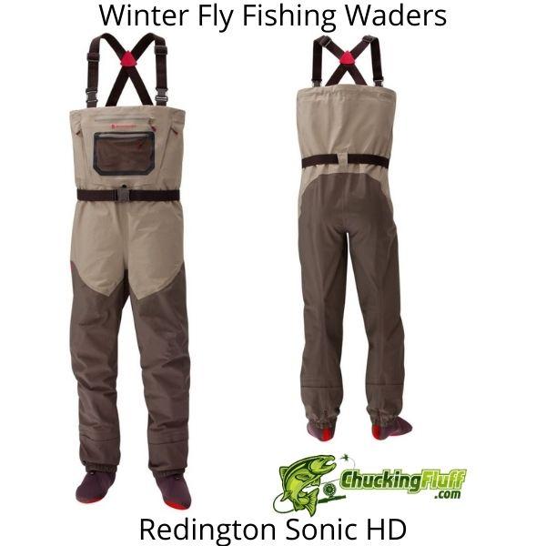 Winter Fly Fishing Waders - Redington Sonic HD