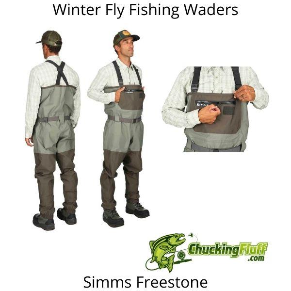 Winter Fly Fishing Waders - Simms Freestone