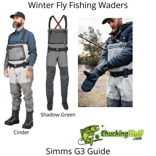 Winter Fly Fishing Waders - Simms G3 Guide