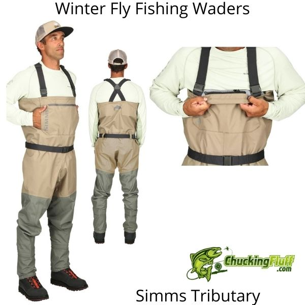 Winter Fly Fishing Waders - Simms Tributary