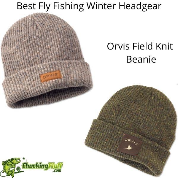 Best Fly Fishing Winter Headgear - Orvis Field Knit Beanie