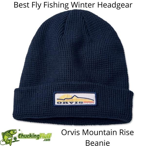 Best Fly Fishing Winter Headgear - Orvis Mountain Rise Beanie