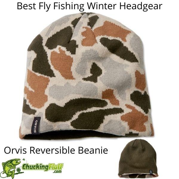 Best Fly Fishing Winter Headgear - Orvis Reversible Beanie