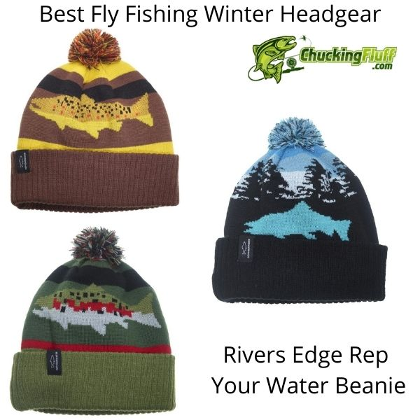 Best Fly Fishing Winter Headgear - Rep Your Water Beanie