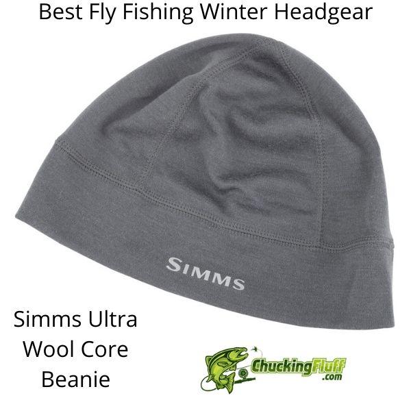 Best Fly Fishing Winter Headgear - Simms Core Beanie