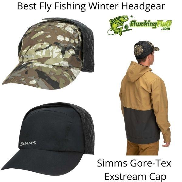 Best Fly Fishing Winter Headgear - Simms Exstream Cap
