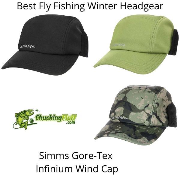 Best Fly Fishing Winter Headgear - Simms Infinium Wind Cap