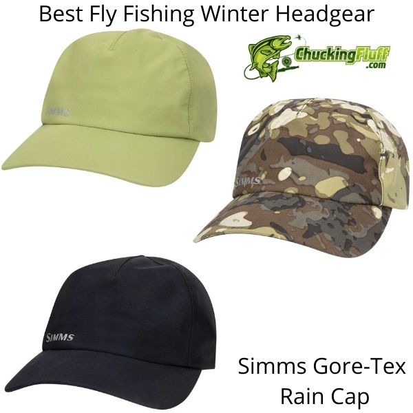 Best Fly Fishing Winter Headgear - Simms Rain Cap
