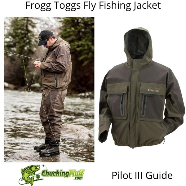 Frogg Toggs Fly Fishing Jacket - Pilot 3 Guide