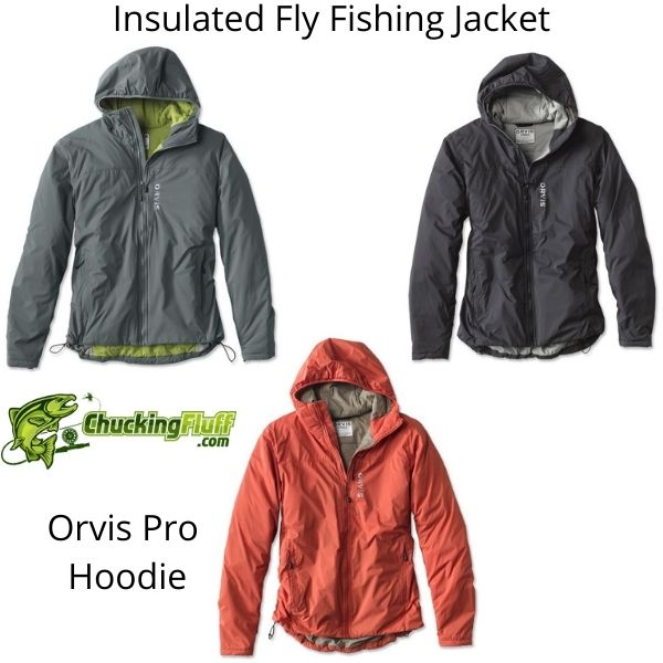 Insulated Fly Fishing Jacket - Orvis Pro Hoodie