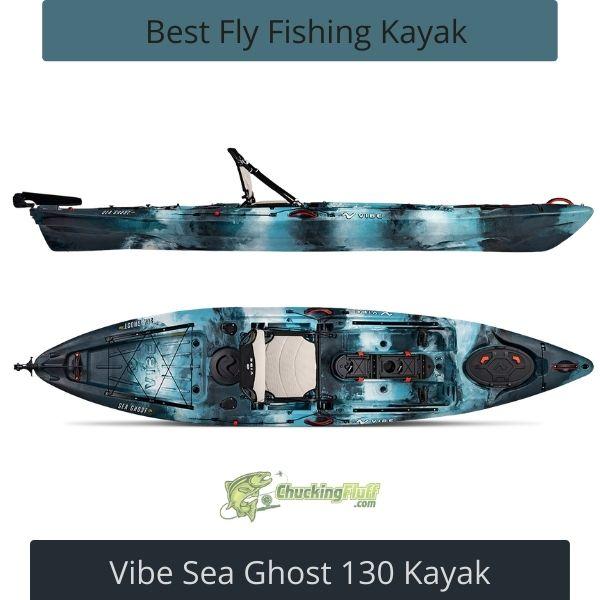 Best Fly Fishing Kayak - Ghost 130