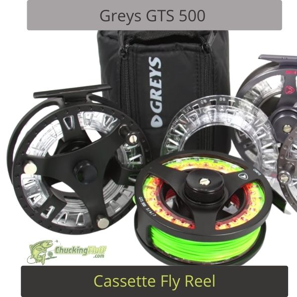Greys GTS 500 Cassette Fly Reel