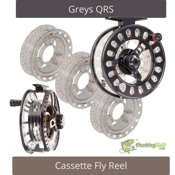 Greys QRS Cassette Fly Reel