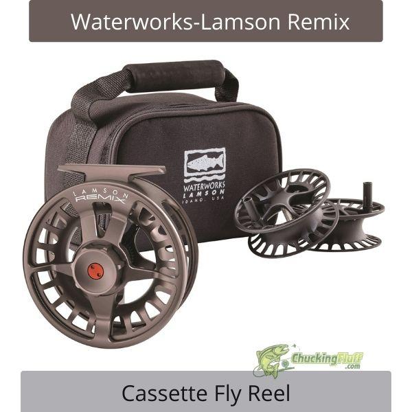 Waterworks Remix Cassette Fly Reel