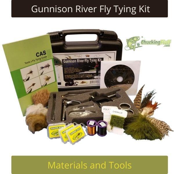Gunnison River Fly Tying Kit