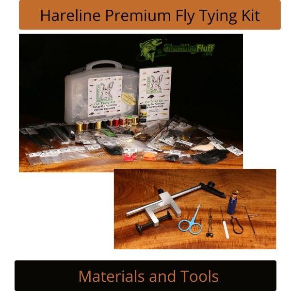 Hareline Premium Fly Tying Kit