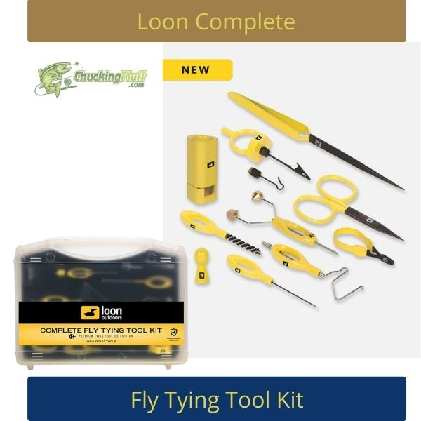 Loon Complete Fly Tying Tools