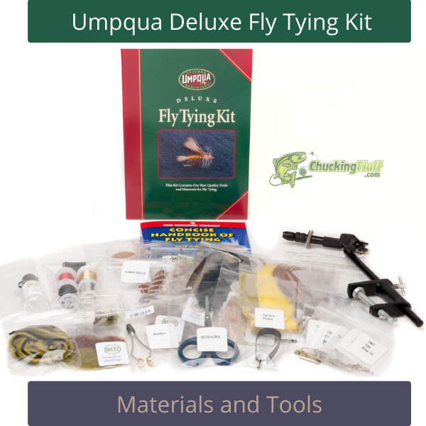 Umpqua Deluxe Fly Tying Kit