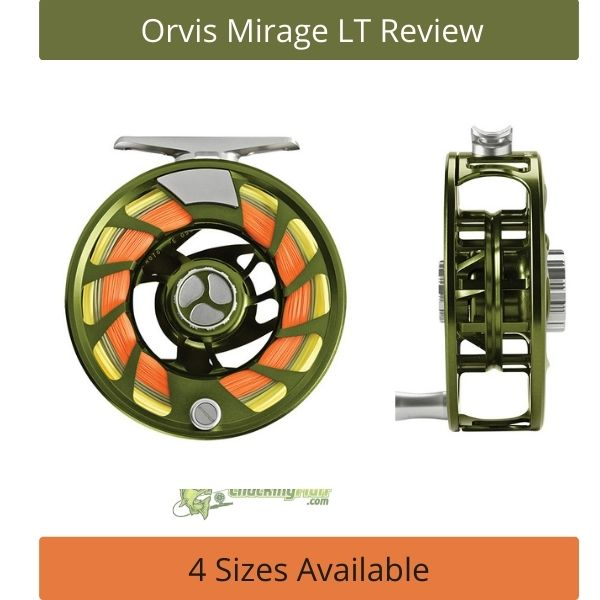 Orvis Mirage LT Fly Fishing Reel Olive