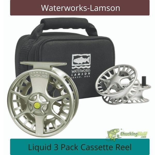 Waterworks Lamson Liquid Cassette Fly Reel